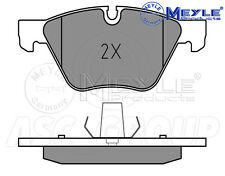 Meyle Brake Pad Set, Front Axle With anti-squeak plate 025 237 9420