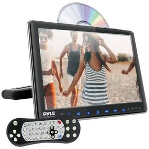 """Pyle PLHRDVD904 9.4"""" LCD Universal Headrest Monitor with DVD/CD Player & IR & F"""