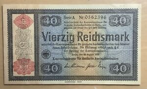 Germany 40 Reichsmark 1933-1934 *UNCIRCULATED*
