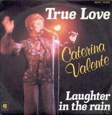 CATERINA VALENTE 45 TOURS FRANCE TRUE LOVE+