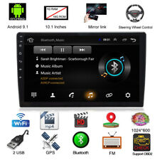 """10.1"""" Android 9.1 Quad Core GPS 1G+16G Car MP5 Player Horizontal/Vertical Wifi"""