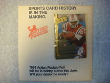 1991 ACTION PACKED FOIL FOOTBALL HART LEE DYKES