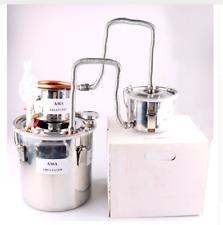 Alcohol Spirits Distiller DIY Home Brew Moonshine Boiler Still Oil 3 Piece Part