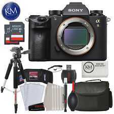 Sony a9 Full Frame Mirrorless Interchangeable-Lens Camera (Body Only) with Delux