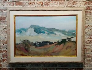 Jay Hall Conway -Impressionist Mountain Landscape in Vermont-Oil Painting