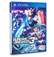 Gundam Breaker 3 PS Vita PSV Game (English) NEW Exclusive Physical Version