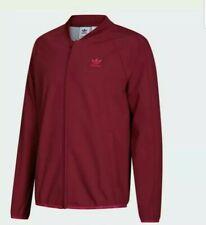 Adidas wntrzd tt burgundy Jacket men's track top M&L Available
