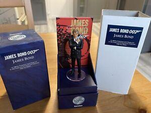 Corgi Icon F04041 James Bond 007 Roger Moore Boxed Fine Metal Figure 1998