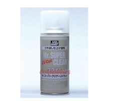 MR HOBBY Creos GSI ACRYLIC SPRAY 170ml SUPER CLEAR UV Cut FLAT MATT B523