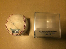 Corey Dickerson vs. Brandon League Game Used Baseball Mlb Coa Colorado Dodgers