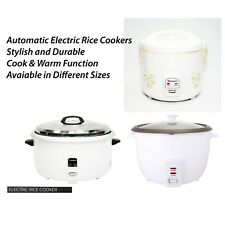 Automatic Electric Rice Cooker Steamer Cooking Non Stick Pot Warm Cook Function