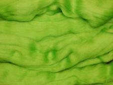 Vivid Verde Merino Wool FIBRA ROVING / Tops - 50g-umido felting Needle felting