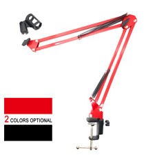 NEW Microphone Suspension With Boom Scissor Arm Stand