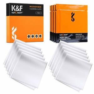 K&F Concept 15x15cm Mikrofaser-Reinigungstuch für Kamera, objektiv, Smartphones