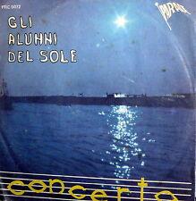 """GLI ALUNNI DEL SOLE II °RECORD  7"""" 1970 CONCERTO - LE 4 -LE 5- LE 6 -LE 7"""