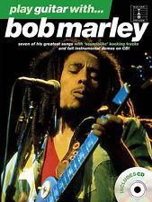 Play Guitar With Bob Marley Learn to Play Reggae Guitar TAB Music Book CD