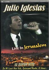 JULIO IGLESIAS  DVD Live in Jerusalem MADE in ITALY sigillato