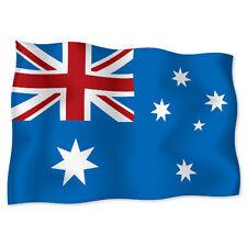 "AUSTRALIA Flag car bumper sticker decal 6"" x 4"""