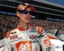 2011 Joey Logano HOME DEPOT RACING Signed 8x10 Photo PSA/DNA COA