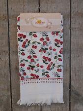 Clayre & Eef - Handtuch / Gästehandtuch - Erdbeeren und Kirschen - NEU