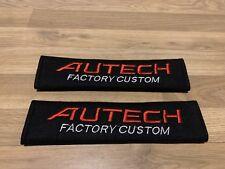 2X Seat Belt Pads Cotton Gifts Autech Factory Custom Parts Japan Nissan Nismo TD