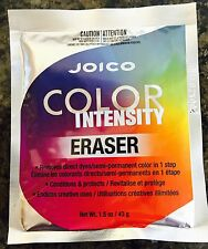 JOICO Color Intensity ERASER (Color Remover) 1.5oz.Packett Free Shipping