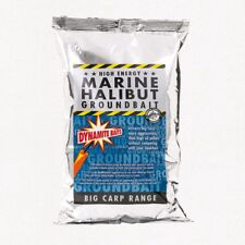 DYNAMITE BAITS BIG CARP RANGE MARINE HALIBUT GROUNDBAIT FISHING ATTRACTANT 1KG