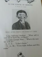 FIRST ALFRED E. NEUMAN MAD MAGAZINE Appearance GOPHER 1923 Yearbook Rare! VGC!