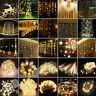 Warm White Fairy String Lights Xmas Christmas Wedding Party Indoor Outdoor Decor