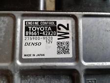 TOYOTA RAV4 ECU ENGINE ECU, 2.2, 2AD, DIESEL, AUTO T/M TYPE, ECU ONLY, ASA43, 02