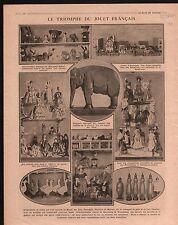 WWI Jouets Animaux Benjamin Rabier/Hansi Musée Arts Décoratifs 1916 ILLUSTRATION