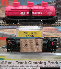 eSPee TRACK CLEANING TANK CAR - Model Power - SHPX / Lion Oil Co. - N Scale MTL