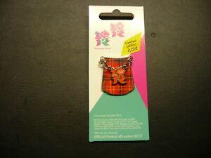London 2012 Pin Badges - Emblems of Scotland - KILT - SOLD OUT !
