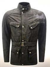 New Matchless Roadfarer Antique Waxed Cotton Men Jacket Made In Italy XXL $995