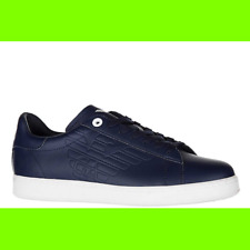 SCARPE EMPORIO ARMANI NEW PRIDE LOW BLU mis uk-7 2dcf7a5abc9