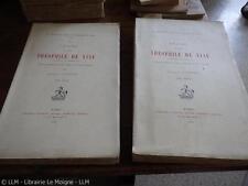 1909.Procès de Théophile de Viau.2/2.Libertinage 17e.501ex..Lachevre