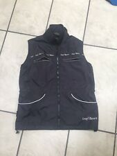 Scucka Dog Training Jacket Vest Womans Black Walking Schutzhund Obedience IPO