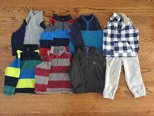 Toddler Boys Fleece Sweatshirts Size 2T - 8 pieces