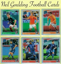 DONRUSS SOCCER 2018-2019 ☆ RATED ROOKIE - OPTIC HOLO PARALLEL ☆ Cards