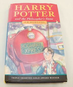 Harry Potter And The Philosophers Stone Bloomsbury Hardback 1st Edition Reprint