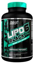 Nutrex LIPO 6 BLACK HERS 120 Caps Extreme Weight Loss Support Fat Burner