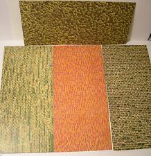 Piko H0 Mauerplatten Karton 4 Stück verschieden je 225x105 mm