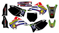 SPLITFIRE KAWASAKI KX 125 250 2003-2012 DECAL STICKER GRAPHIC KIT