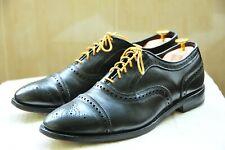 "Allen Edmonds ""STRAND"" Black Calfskin Cap toe Oxfords 6115 Size 10 E"