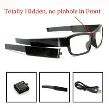 Spy Glasses without lens hole Hidden camera removable detachable battery arm