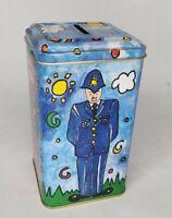 Empty Bentleys of London Police Telephone Booth Collectible Tin Bank