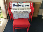 BUDWEISER PIANO Antique Authentic Rare Collectible Complete - Functioning Player