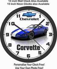 1996 CHEVROLET CORVETTE  WALL CLOCK-FREE US SHIP, Choose 1 of 4