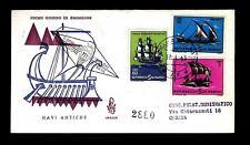 SAN MARINO - 1963 - Storia della navigazione su FDC Venetia