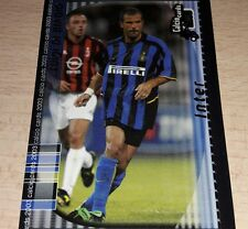 CARD CALCIATORI PANINI 2003 INTER DI BIAGIO CALCIO FOOTBALL SOCCER ALBUM